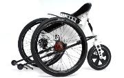 Una silla de ruedas Fórmula 1
