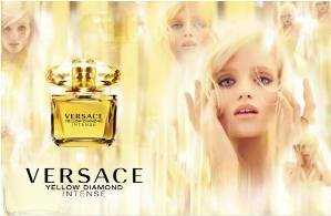 Abbey Lee Kershaw en la campaña de Versace.