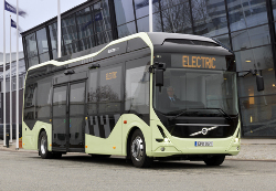 El bus eléctrico de Volvo
