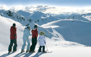 Cerro Castor, el centro de esquí más austral del mundo.