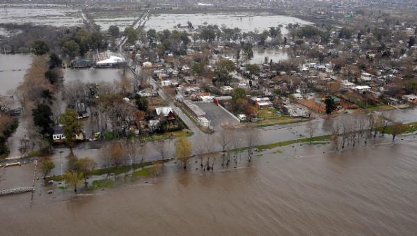 Ayuda para los inundados