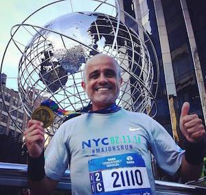 Dani Arcucci en NYC Marathon