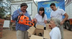 La Fundación Corriente Cálida Humanística tiene como objetivo brindar asistencia y contención a grupos vulnerables.