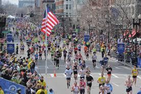 La tradicional maratón de Boston