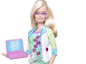 Una Barbie con Internet