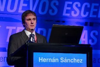 Hernán Sánchez, presidente de ARLOG