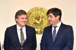 Ricardo Marra y Gabriel Delgado