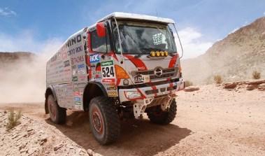 Hino en el Dakar 2016