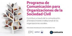 Contribuye al fortalecimiento institucional de las organizaciones sociales