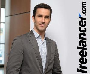 Sebastián Siseles, director internacional de Freelancer.com.