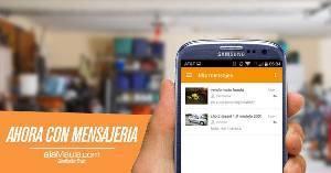 Con la mensajería integrada dentro de la app, los vendedores podrán vender mucho más rápido.
