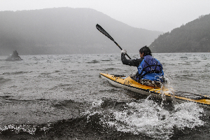 Constará de 10 km. en el agua cuando sea el turno del kayak.