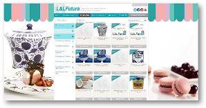 L&L Futura procesa grandes volúmenes de información y pedidos on-line.