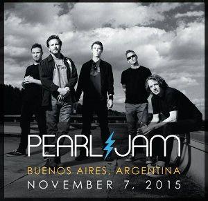 Esta banda de rock alternativo Pearl Jam regresará por cuarta vez al país.