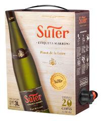 El Pinot de la Loire Suter Etiqueta Marrón.