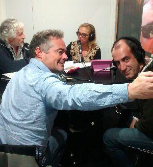 Santiago Pinto y Ernesto Mendizábal, de Motormax.