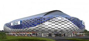 El estadio DirectTV Arena, el centro de entretenimiento más moderno de la Argentina, está ubicado en Tortuguitas.