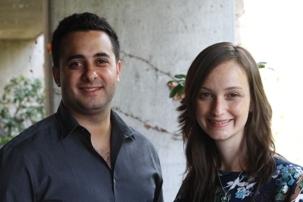 El gerente de Marketing y Desarrollo de Negocios para Latinoamérica de eBayCG, Damián Amaya, y el gerente de Marca para Latinoamérica, Clara Lugarinho.