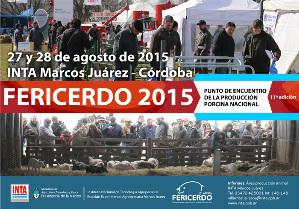 La 11° edición de Fericerdo se hará los días 27 y 28 de agosto