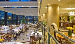 En el bello Restaurante Cardinale de Sheraton Buenos Aires Hotel.