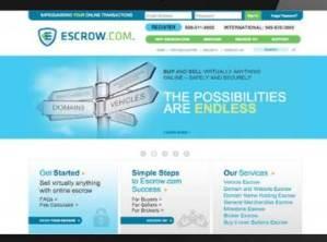Escrow.com es el proveedor líder de pagos seguros.