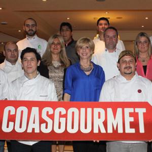 CoasGourmet es una acción que se realiza gracias al invalorable esfuerzo de Bodega Norton y de restaurantes.
