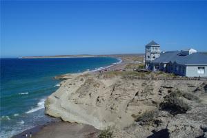 Uno de los lugares más abrigados de la costa patagónica a nivel del mar.