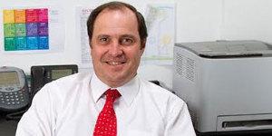 La satisfacción de Javier Braun, gerente general