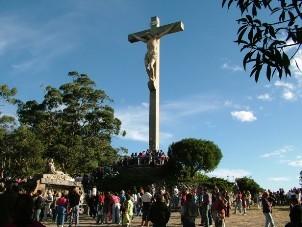 El vía crucis en el Monte Calvario fue el epicentro.