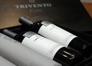 El vino Eolo 2012 fue creado especialmente.