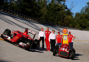 Shell renovó su alianza de innovación con la Scuderia Ferrari.