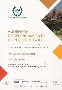 Una propuesta de la Asociación Argentina de Golf (AAG) para capacitaciones.