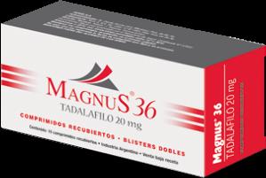 Magnus 36 puede ser tomado con las comidas.