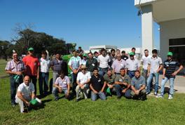 Las capacitaciones se llevaron a cabo en el centro de entrenamiento, localizado en la planta de Granadero Baigorria.