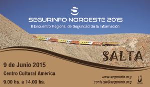 Fue parte de SegurInfo Noroeste 2015.