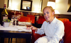 Hélène Darroze, cocinera de los restaurants homónimos en París y Londres.