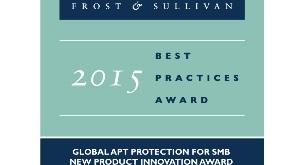 Ha sido reconocido con el Premio  Frost & Sullivan 2015.