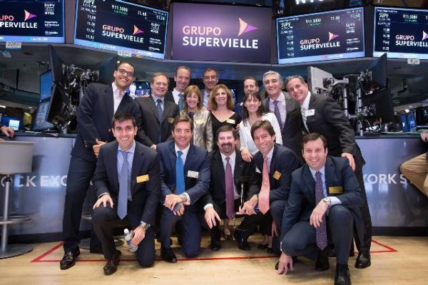 El Grupo Supervielle en el New York Stock Exchange