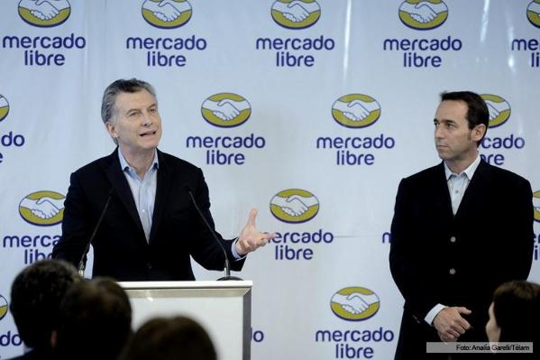El presidente Mauricio Macri asistió al evento. Télam