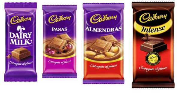 Chocolates Cadbury
