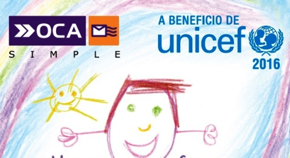 Estampilla a beneficio de UNICEF