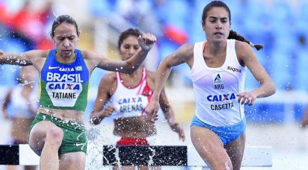 Casetta llega a Río con récord argentino
