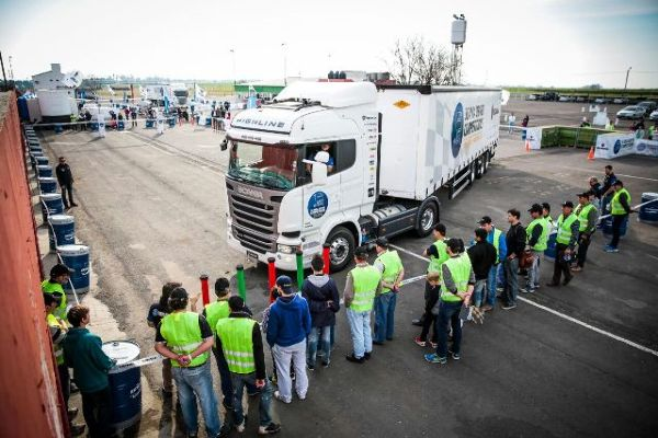 Scania llegó a Paraná