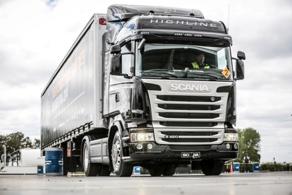 Scania Driver Competitions 2016 Argentina