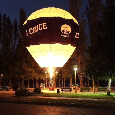 El globo del Cruce