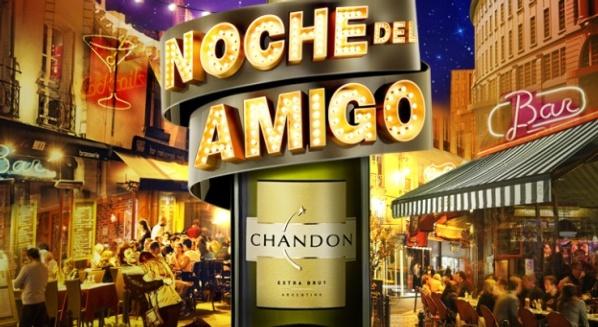 Festejo con Chandon