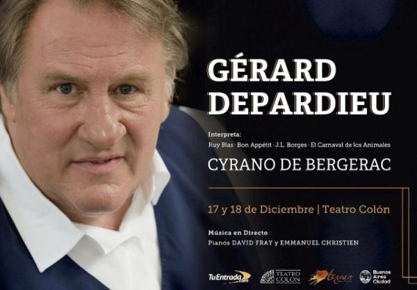 Gérard Depardieu en el Colón