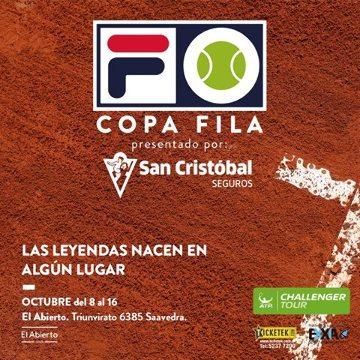 Copa Fila presentada por San Cristóbal Seguros