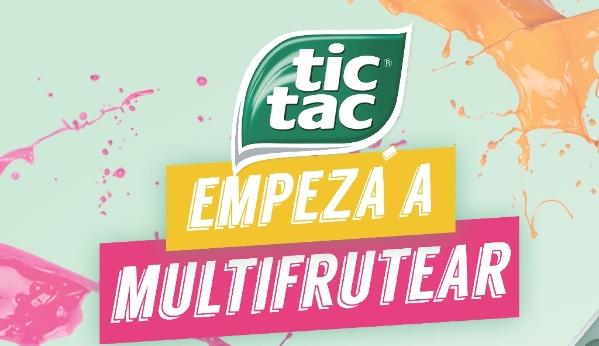 Tic Tac Mix de Frutas