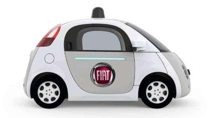 Fiat Chrysler y Google